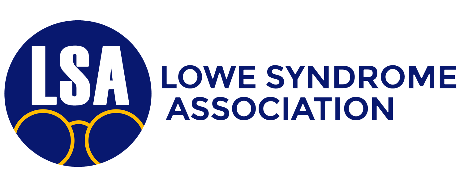 Lowe Syndrome Association Logo in the Footer